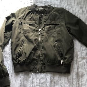 Army Green Bomber Jacket!!!